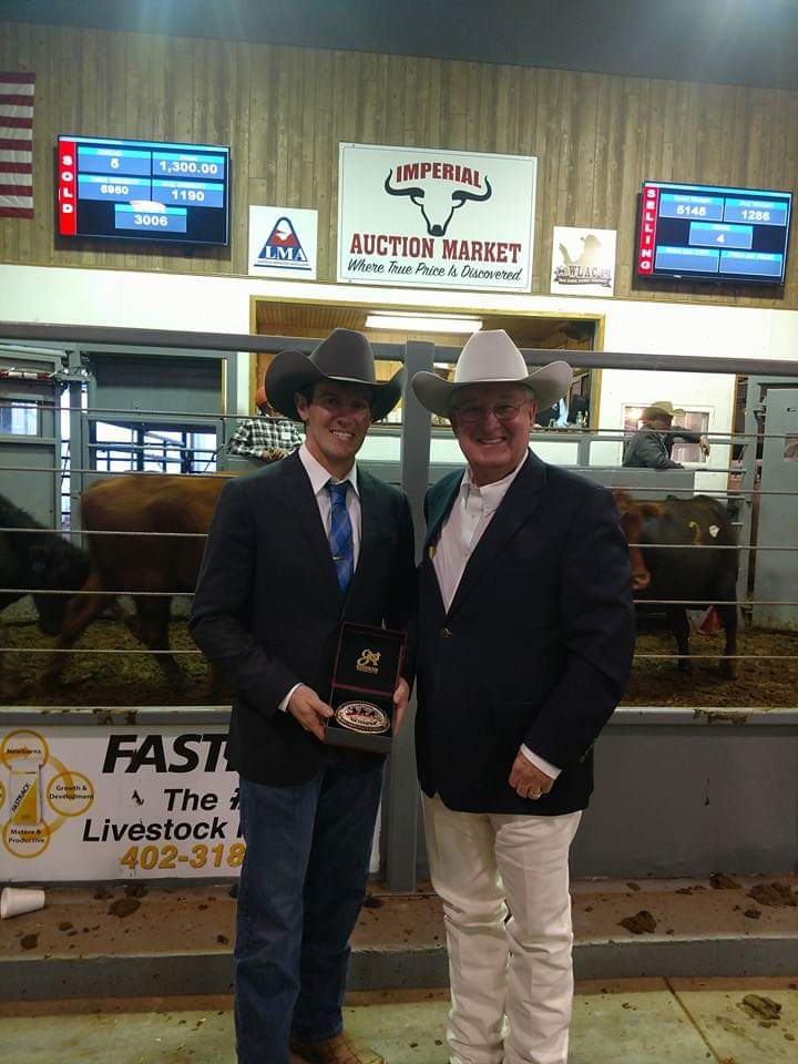CL || South Central Livestock || SCL's Auctioneer Champion
